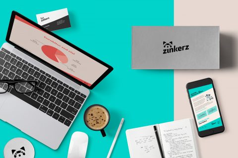 Identidad para startup de aprendizaje digital.
