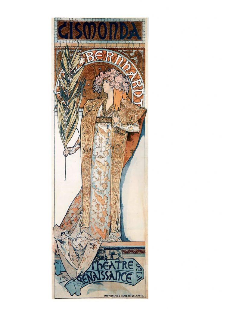 Art Nouveau Sarah Bernhardt