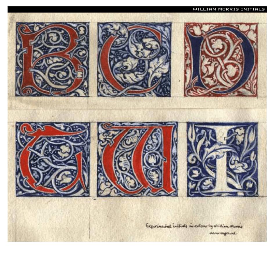 Estilos determinantes de diseño aspectos decorativos florales