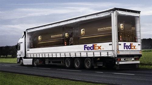 Anuncio de FedEx